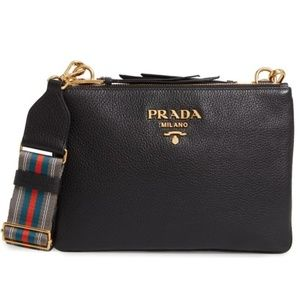 Prada Vitello Daino Crossbody NWOT